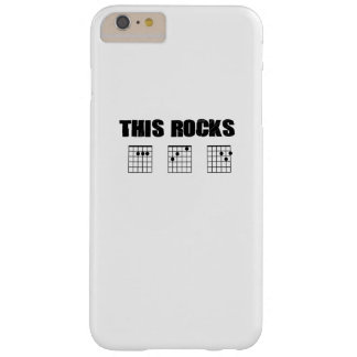 Guitar Music Lover Gifts Guitarist Funny  Dad Gift Barely There iPhone 6 Plus Case