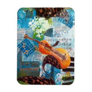 Guitar Music Magnet
