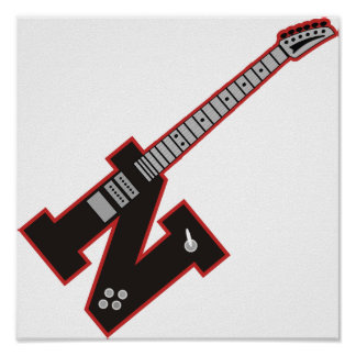 Guitar N Poster