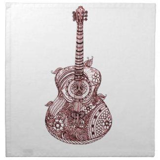 Guitar Napkin