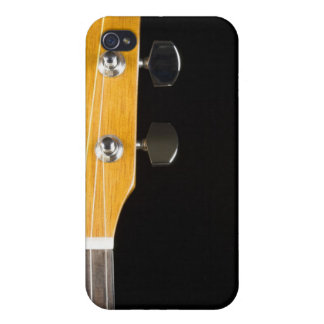 Guitar Neck and Head iPhone 4 Covers
