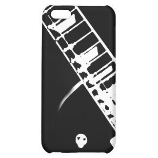 guitar neck stamp black and white iPhone 5C covers