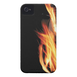 Guitar on fire Case-Mate iPhone 4 cases