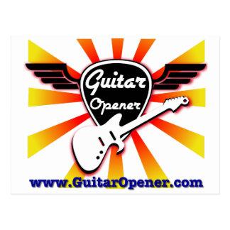 Guitar Opener Postcard