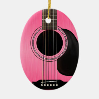 Guitar Ornament Pink