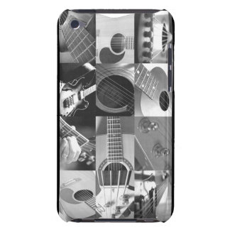 Guitar Photo Collage - black and white Case-Mate iPod Touch Case