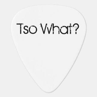 Guitar Pick - Tso What