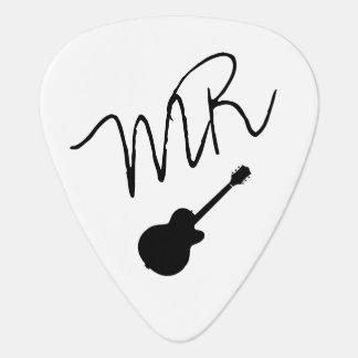 guitar-picks personalised for the guitarman pick