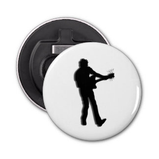 Guitar Player Bottle Opener