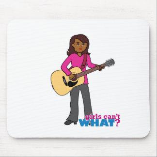 Guitar Player - Dark Mousepad