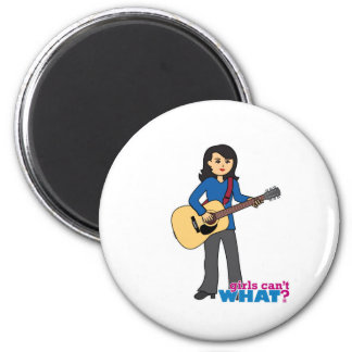 Guitar Player - Medium Refrigerator Magnet