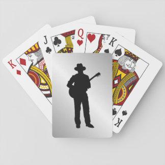 Guitar Player Poker Deck