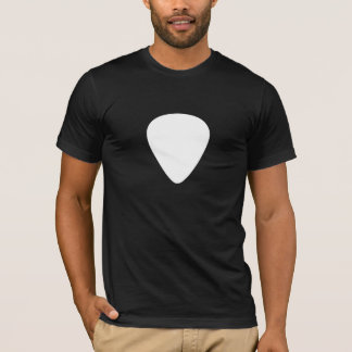 Guitar Plectrum (Pick) T-Shirt (white pick)