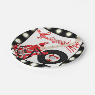 Astounding Paper Plate Guitar Contemporary - Best Image Engine ...