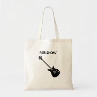 Guitar Rock Star Tote Bag