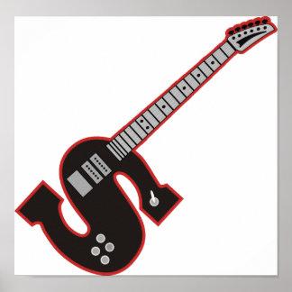 Guitar S Poster