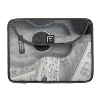 Guitar & Sheet Music MacBook Pro Sleeve