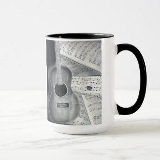 Guitar & Sheet Music Mug