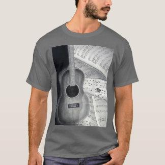 Guitar & Sheet Music Tshirt