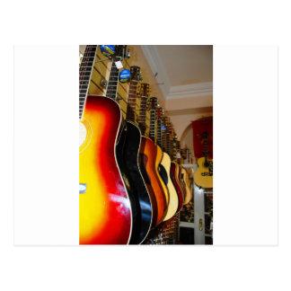 Guitar Shop Postcard