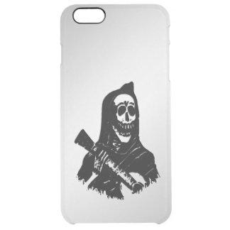 Guitar Skeleton Serenade Clear iPhone 6 Plus Case
