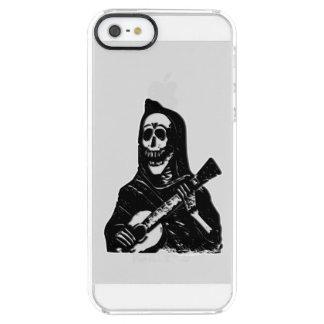 Guitar Skeleton Serenade Clear iPhone SE/5/5s Case