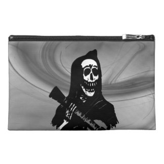 Guitar Skeleton Serenade Misty Eve Travel Accessory Bag