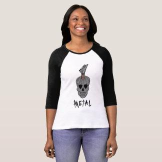 Guitar Skull Music T-Shirt