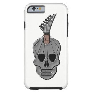 Guitar Skull Music Tough iPhone 6 Case