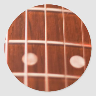 Guitar strings classic round sticker