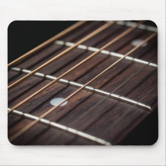 Guitar strings mousepad