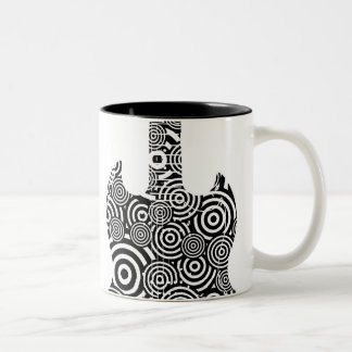 Guitar Swirl Mug (Large Logo)