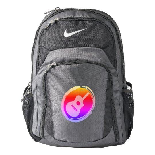 Guitar Symbol Nike Performance Backpack