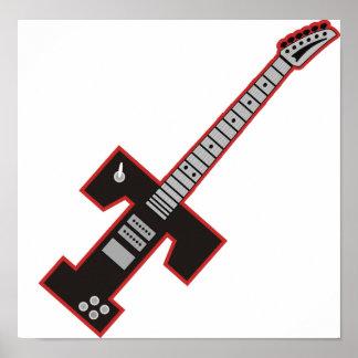 Guitar T Poster
