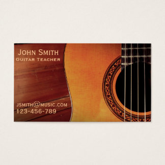 Guitar Teacher music tutor freelance