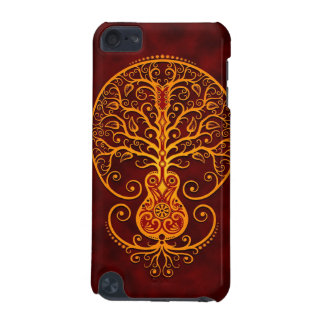Guitar Tree – golden red iPod Touch (5th Generation) Covers