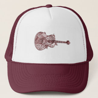 Guitar Trucker Hat