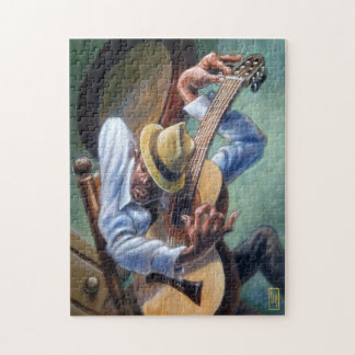 """Guitar Tuning"" 11x14 Picture Gift Puzzle"