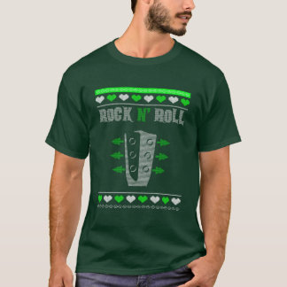 Guitar Ugly Christmas Sweater Knitted