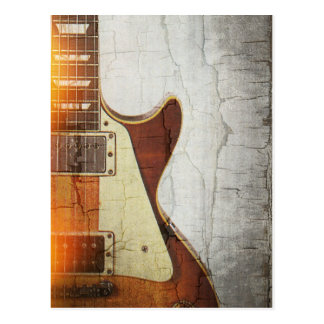 Guitar Vibe 1- Single Cut 59 Postcard