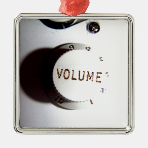 Guitar Volume Knob Christmas Ornaments