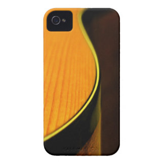Guitar Woodgrain Blackberry Bold Case