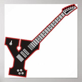 Guitar Y Posters