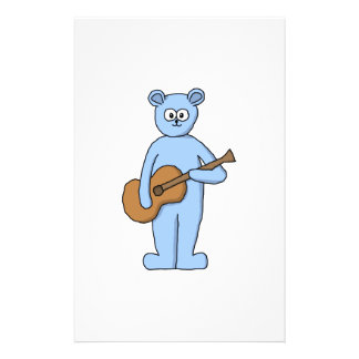 Guitarist Bear. Flyers