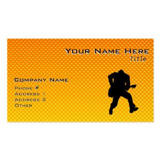 Guitarist Business Card Template