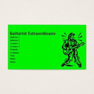Guitarist Business Card