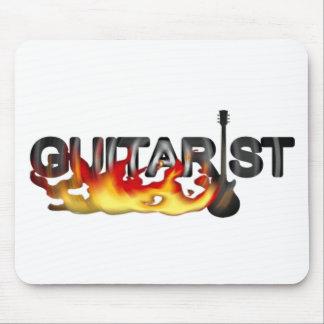 GUITARIST l BURNING HOT ENERGY Mousepad