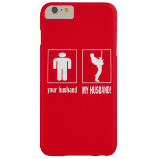 GUITARIST - MY HUSBAND BARELY THERE iPhone 6 PLUS CASE