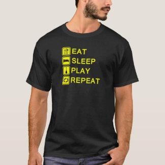 Guitarist ritual yellow color T-Shirt