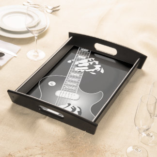 GUITARIST SERVING TRAY